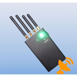 2W 4 Band Wifi & Cell Phone Signal Jammer