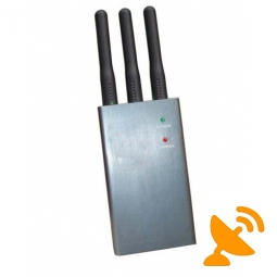 Mini 2.4W Cell Phone Signal Jammer 15 Meter