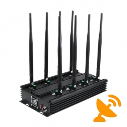 Ultimate 8-Band Mobile Phone, WiFi Bluetooth, UHF, VHF, GPS, LoJack Signal Jammer Terminator