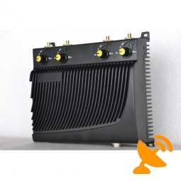 Cellular Cell Mobile Phone Jammer + GPS Jammer with Remote Control