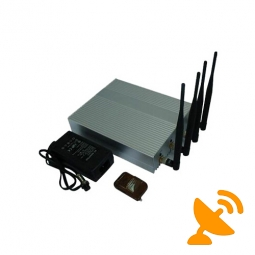 Desktop 3g Cell Phone Jammer with Remote