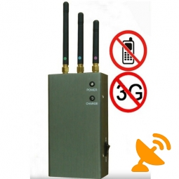Portable GSM CDMA 3G Cellular Phone Signal Blocker