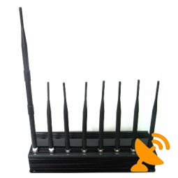 8 Antenna All in one for all 3G 4G Cellular,GPS,WIFI,Lojack Jammer Blocker