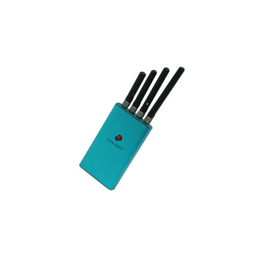 3W Portable Cell Phone Jammer for GSM DCS 3G CDMA Signal