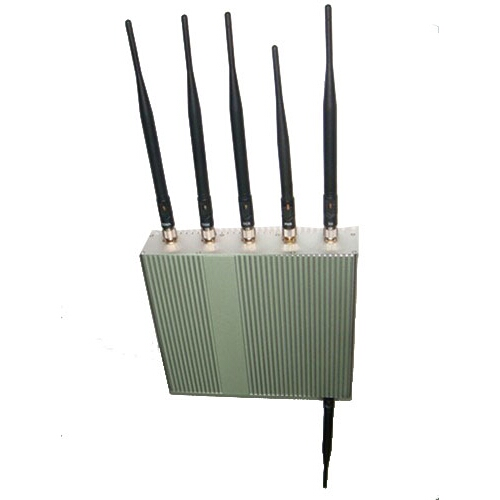 6 Antennas GPS + Wifi + Cell Phone Jammer